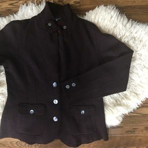 Eileen Fisher Wool Coat Sweater